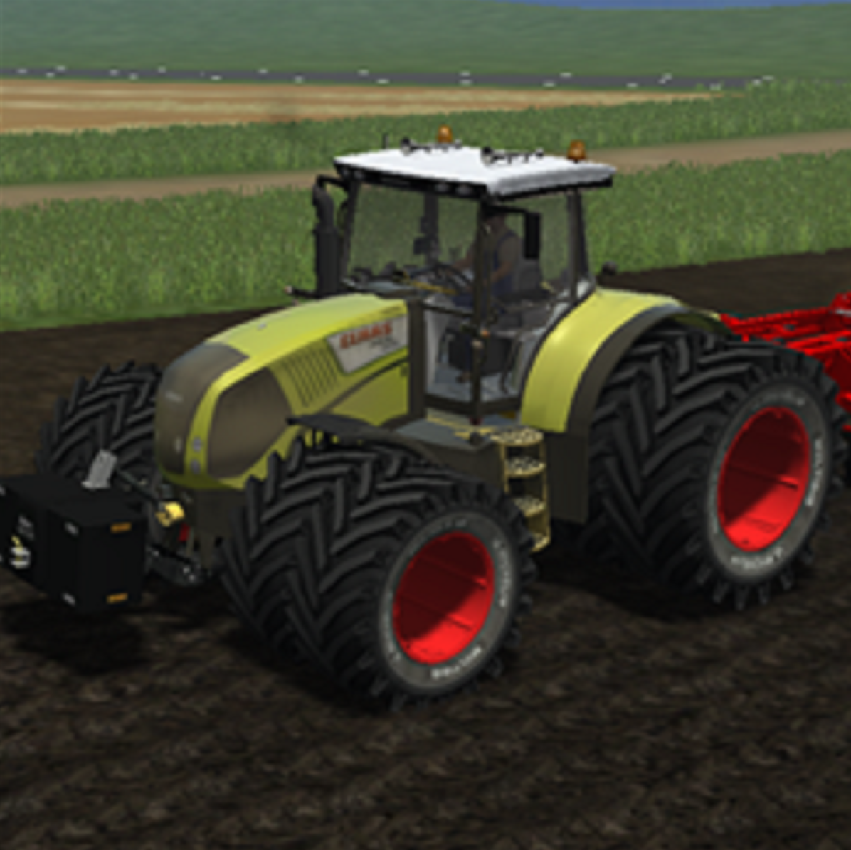 Claas Axion 850 (AP)