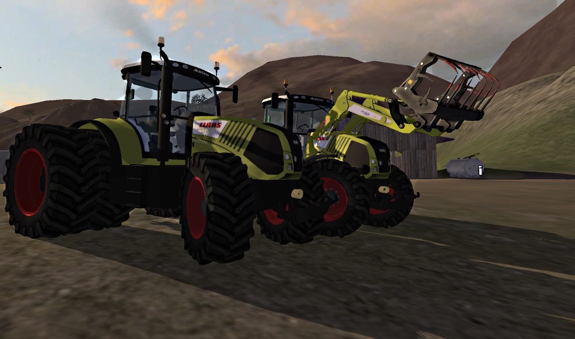 Claas Axion 850V6