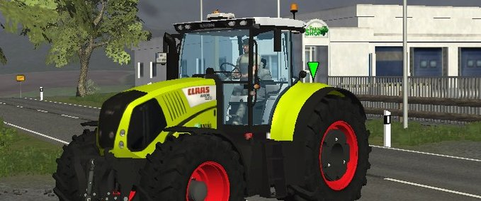 Claas Axion 850 v7.0