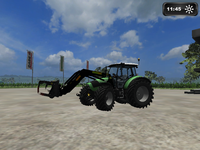Deutz K420 With Stoll Loader