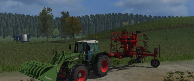 Fendt 311 Vario with Front Loader