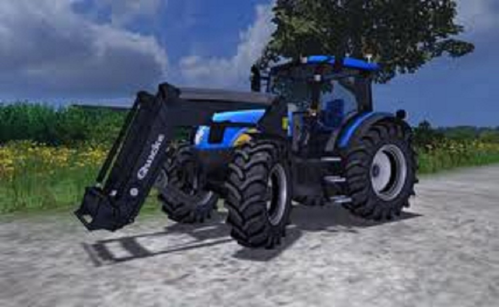 New Holland T6030 Front Loader