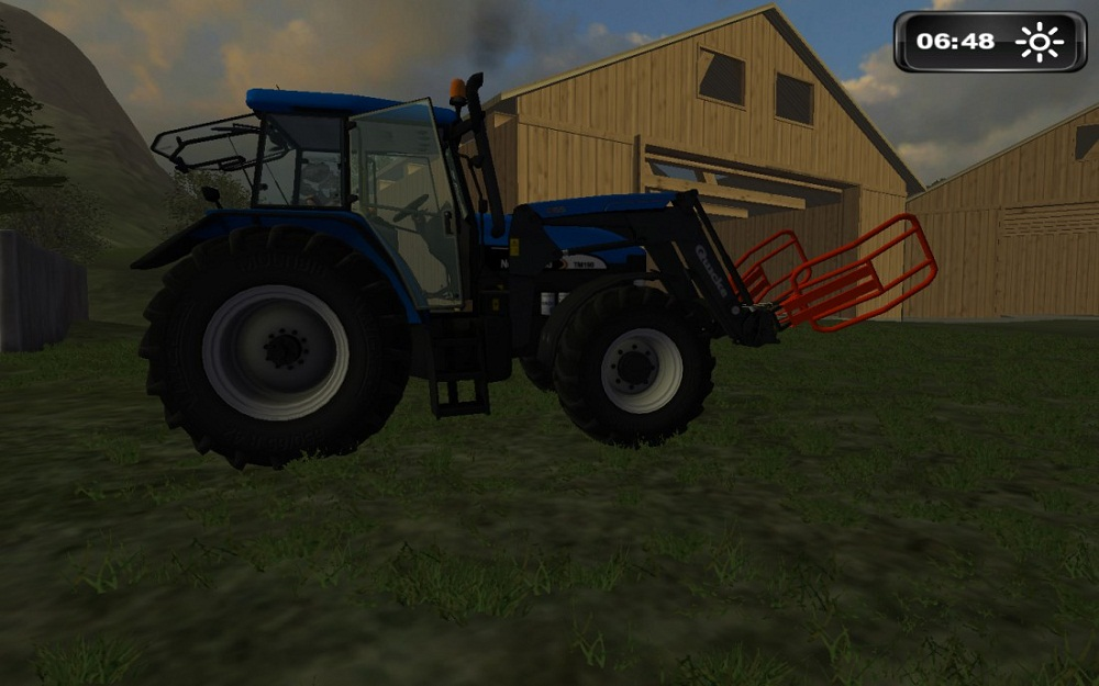 New Holland TM175 & TM190 + FL