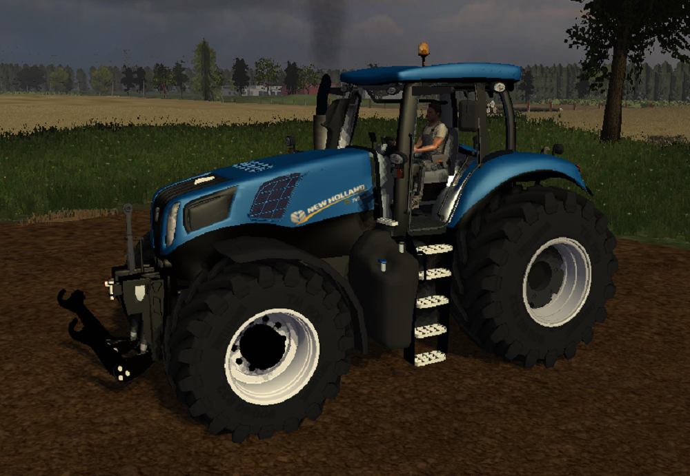 New Holland T8 390 V1.1