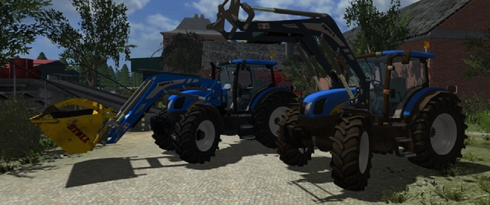 New Holland TS135A F