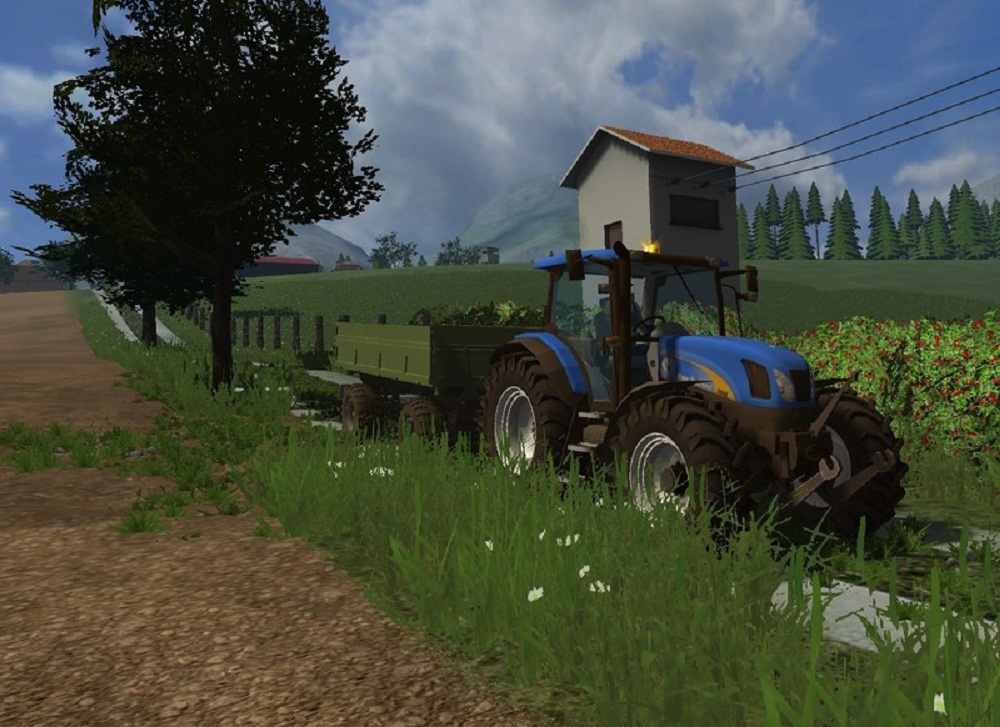 New Holland TS135A v 2