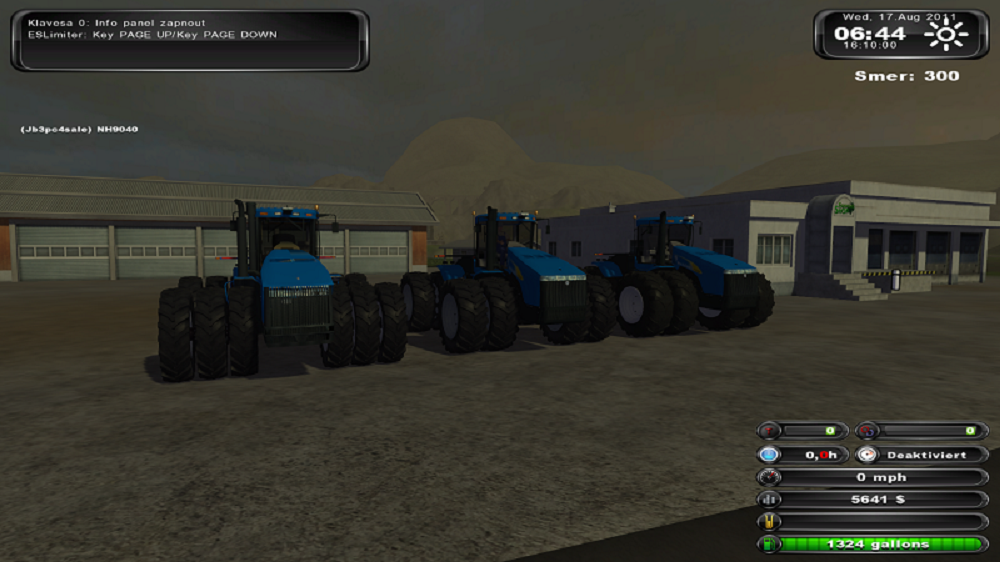 New Holland 9000 Seriest Tractors