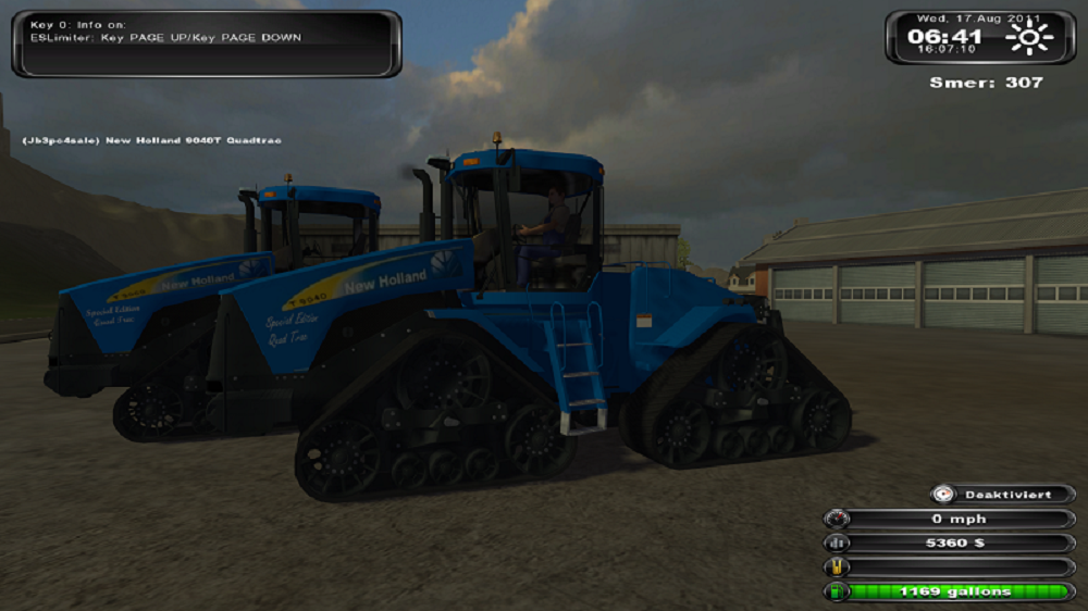 New Holland Quad Track Pack