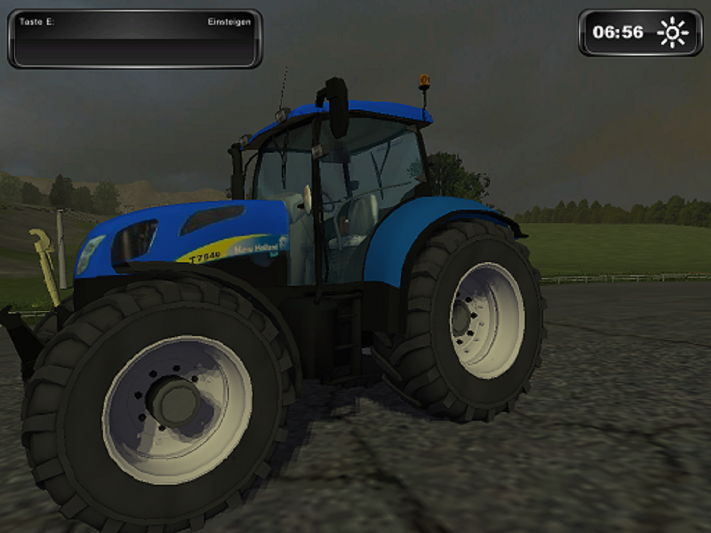 New Holland T7540