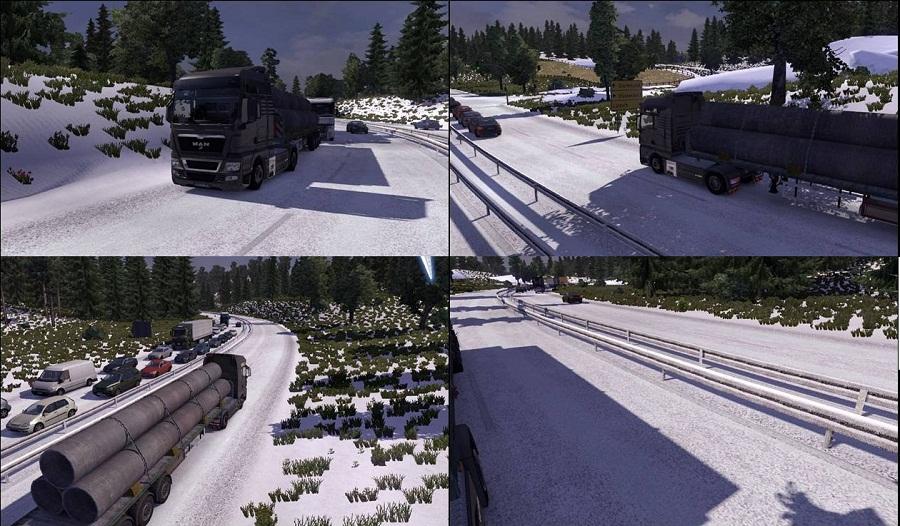 Моды для Euro Truck Simulator 2 (ETS 2)