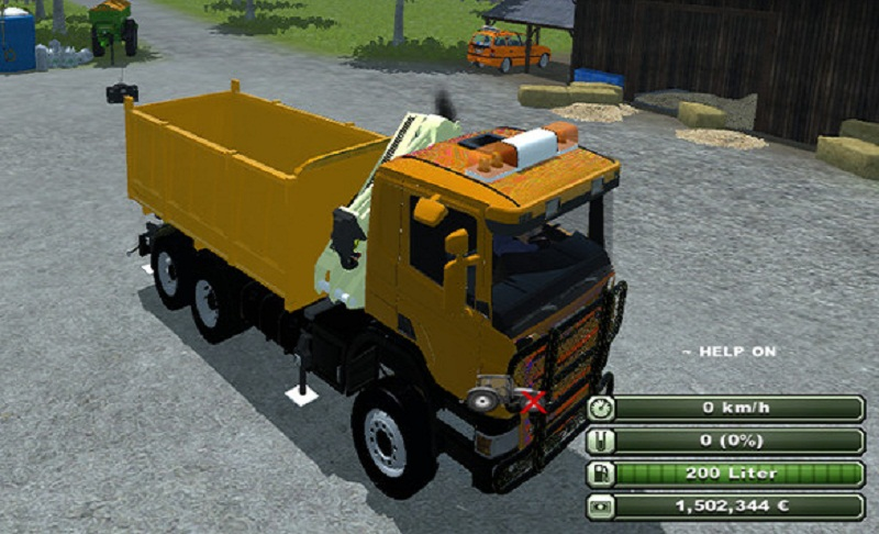 Scania 6x6 Tipper V 1.0