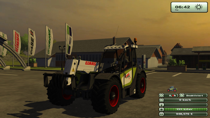 Claas Scorpion Vari Power 7040 V 2.2