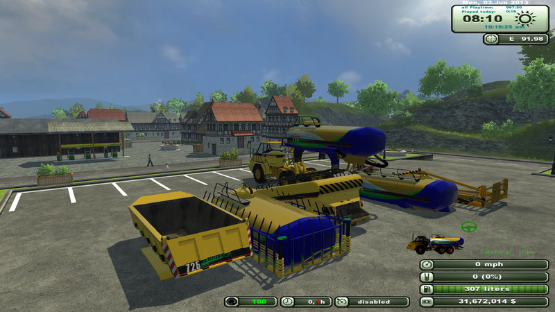 Cat 725 dumper pack v 1.6