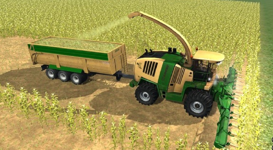 Krone Big Foot MX 1300 v 1.0