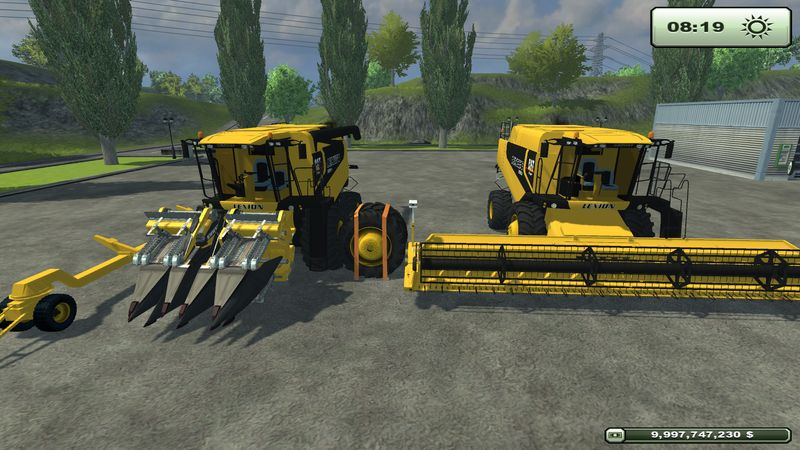 CAT Lexion 590R and 580R v 2.0