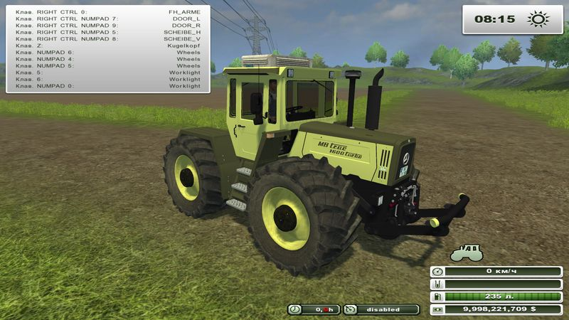 MB trac 1600 turbo v 1.0
