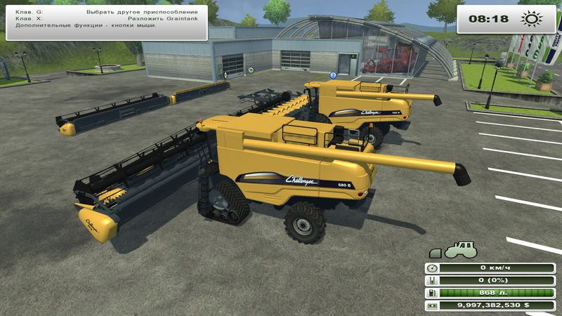 CAT Challenger 680 B Pack v 1.0