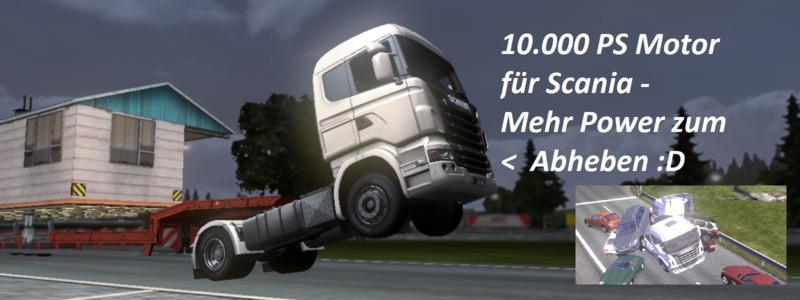 Евро трек как самому изменить двигатель
