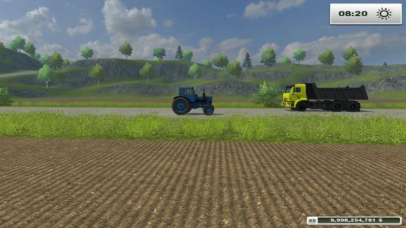 Мод Russian Traffic Pack v 2.0 для Farming / Landwirtschafts Si