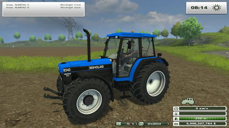 New Holland 8340 v 1.0