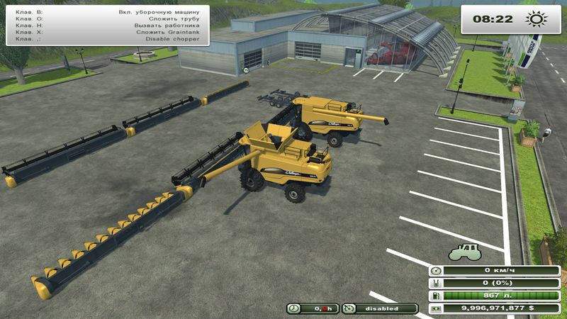 CAT Challenger 680 B Pack v 1.1
