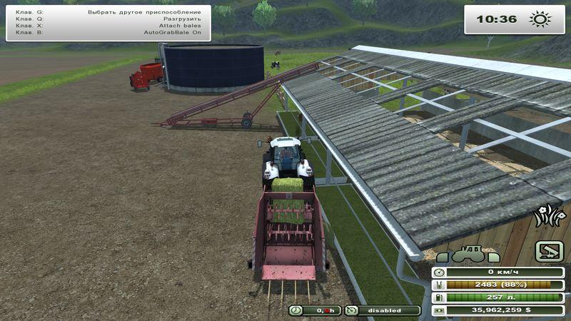 Как сделать сено в farming simulator