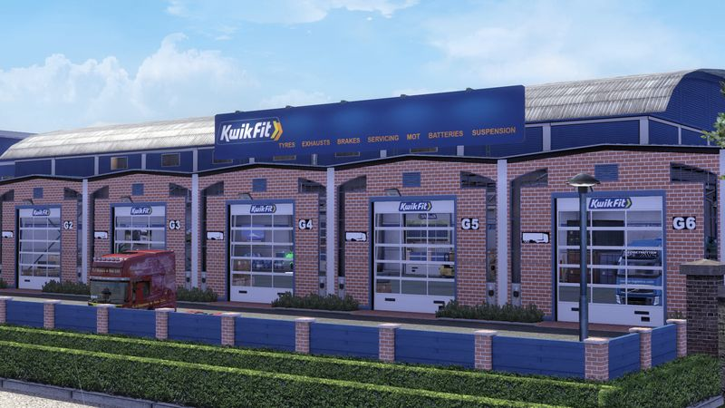 Kwik Fit Large Garage Skin v 1.0
