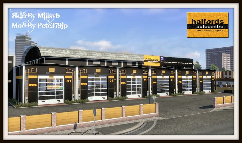 Halfords Large Garage Skin v 1.0