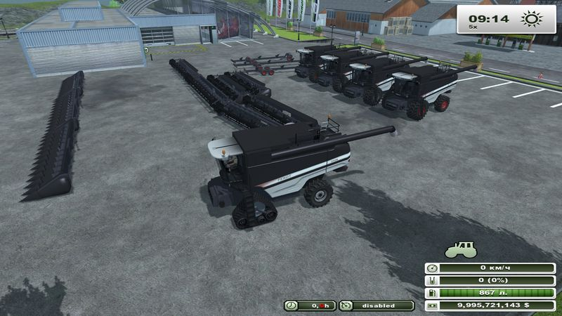 Fendt 9460 R Black Beauty v 5.5