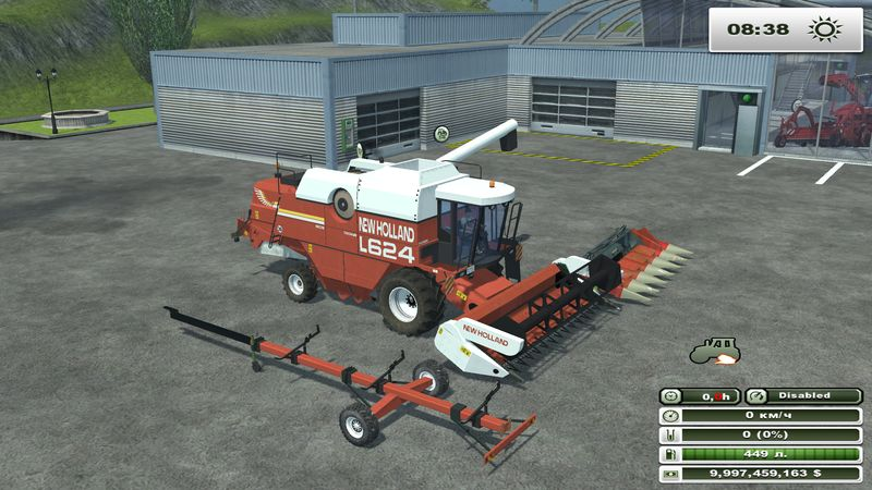 New Holland L624 v 1.0