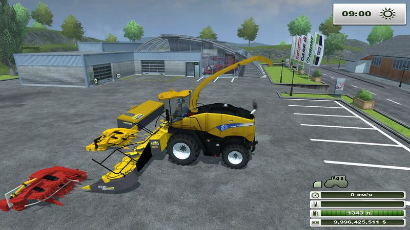 New Holland FR 9050 v 2.0