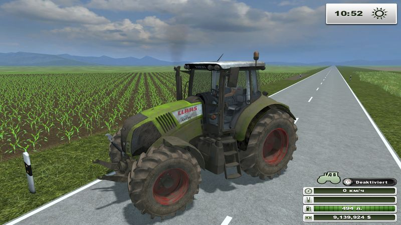 Claas Axion 820 v 3.0 Dirt