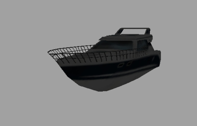 Motor boat from Ls11 with Spinline v 1.1