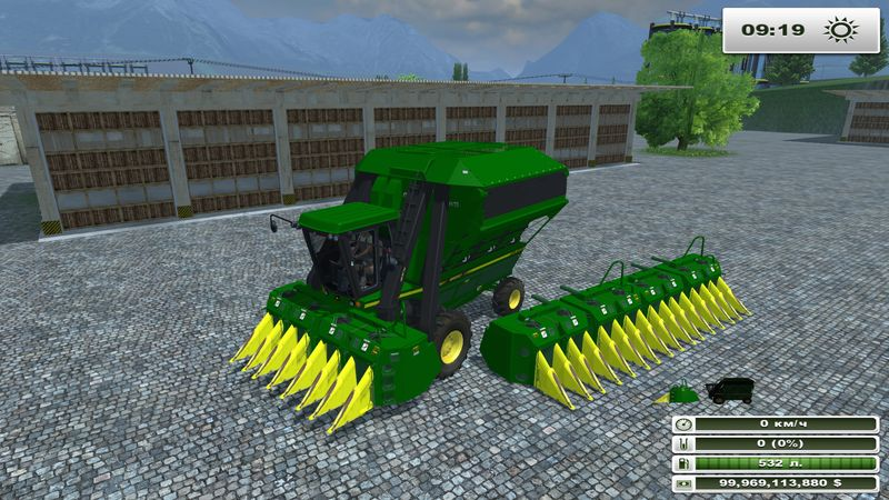 John Deere 9950 Cotton Harvester v 1.0