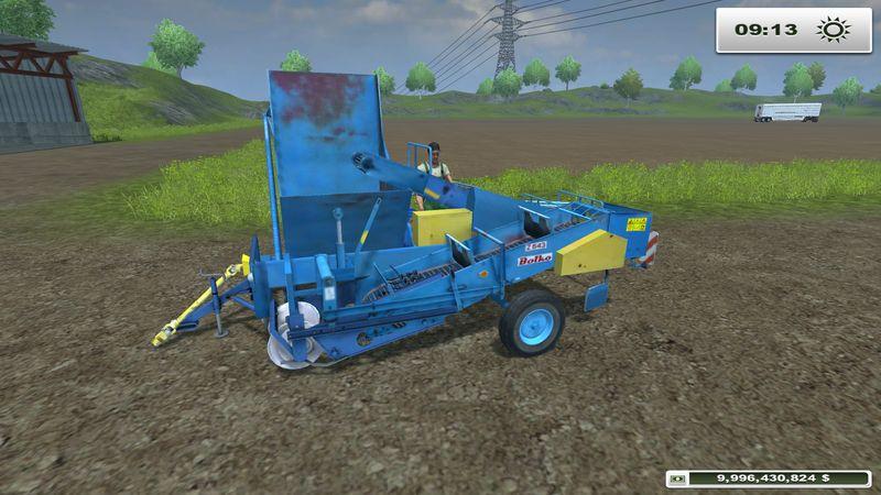 Мод для игры Bolko Z-643 для Farming / Landwirtschafts Simulato