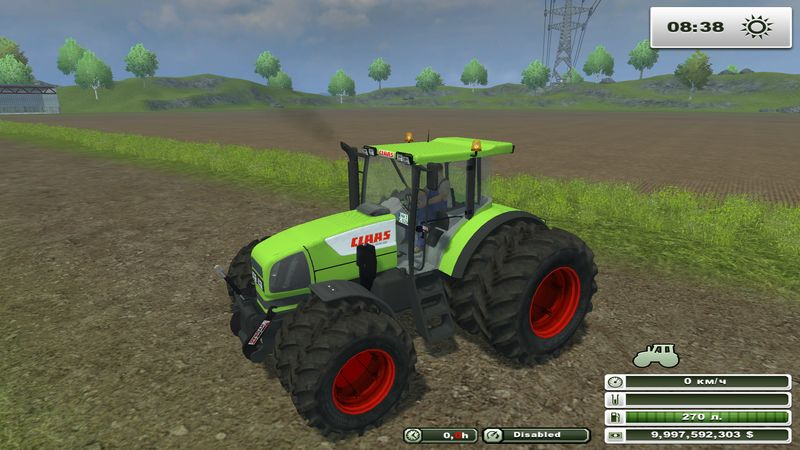Claas Ares 826 FL v 2.1